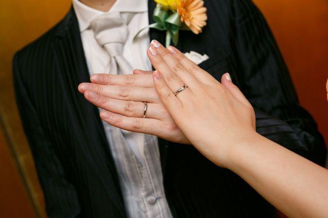 結婚式当日の写真