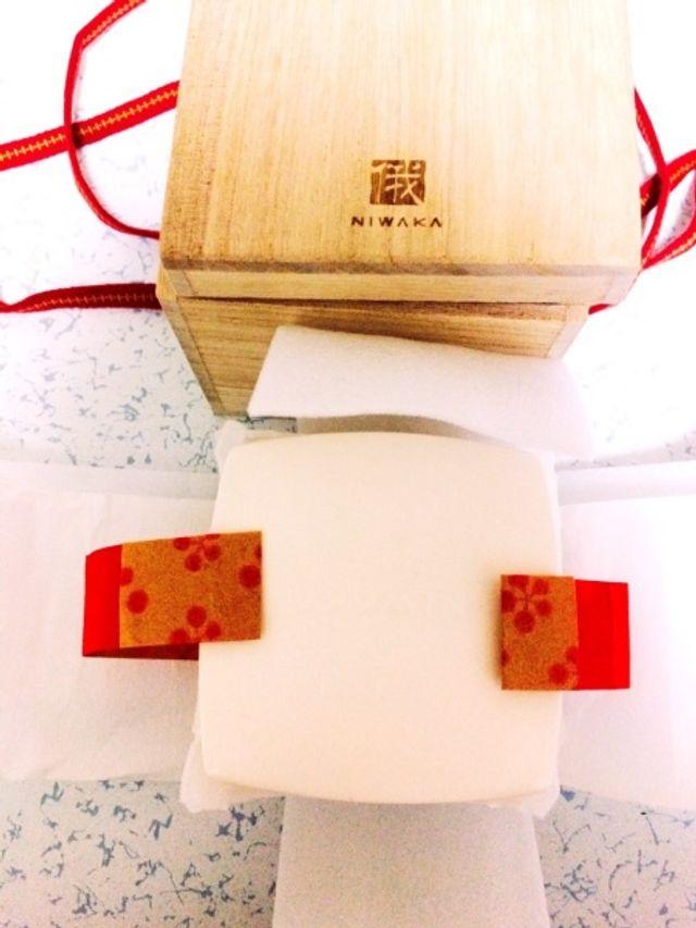 桐の箱&リングピロー