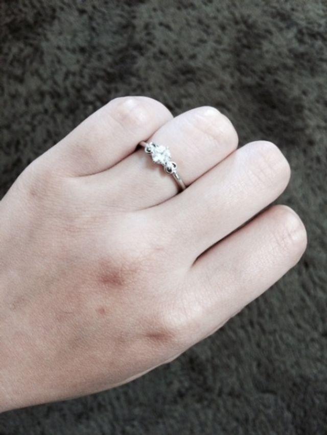 婚約指輪(正面)