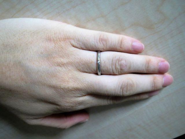 結婚指輪です