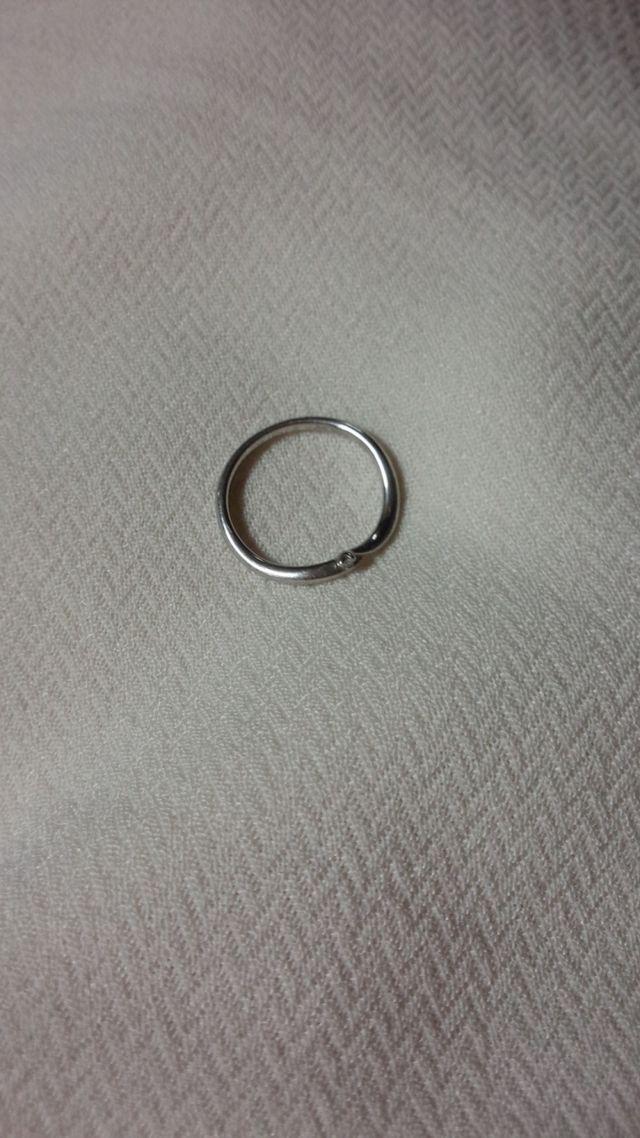 0.3カラットのダイヤあり