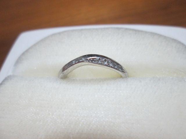 女性用指輪です