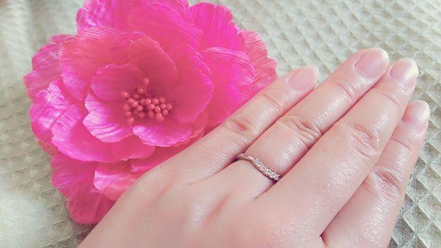 ふっくら指でもきれいに見えます