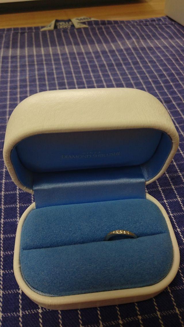 素敵な箱と指輪