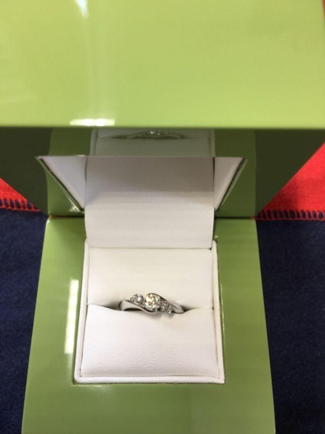 結婚10年目の婚約指輪♡スイートテン♡