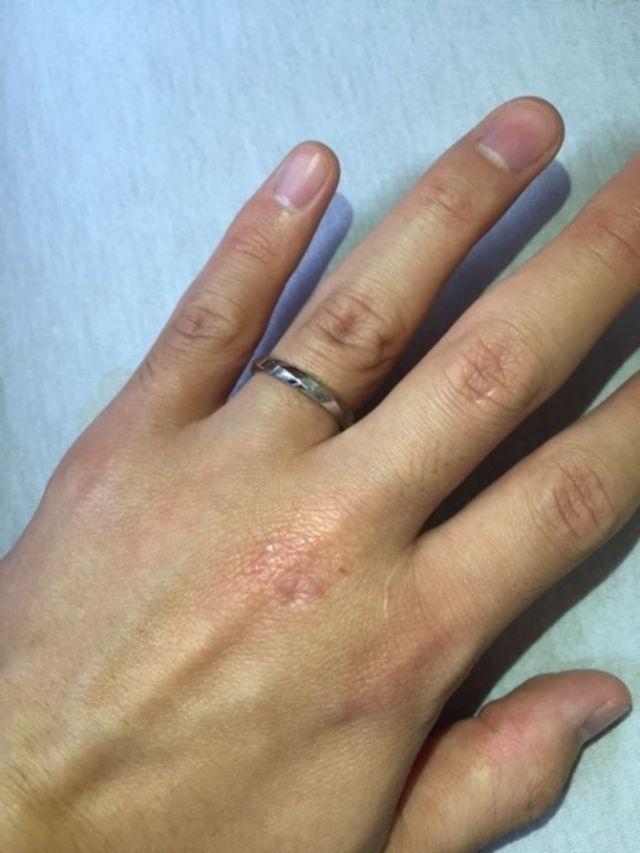 結婚指輪写真(夫)