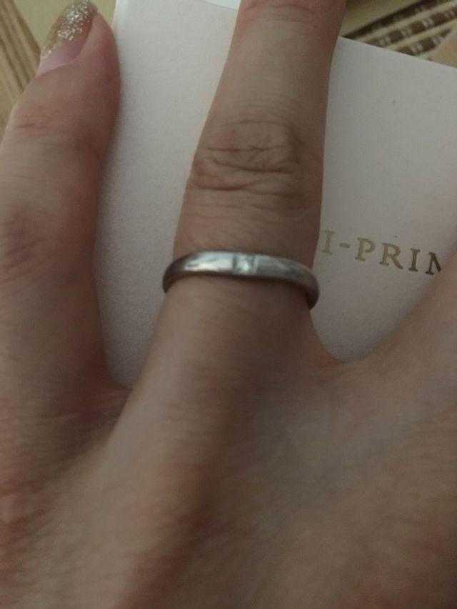 新婦指輪 正面