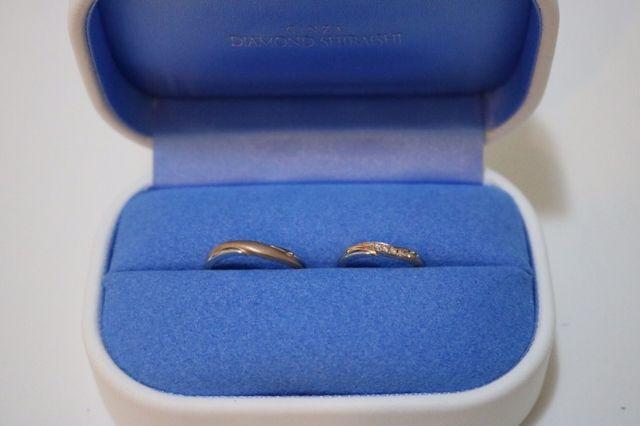 銀座ダイヤモンド シライシにて購入
