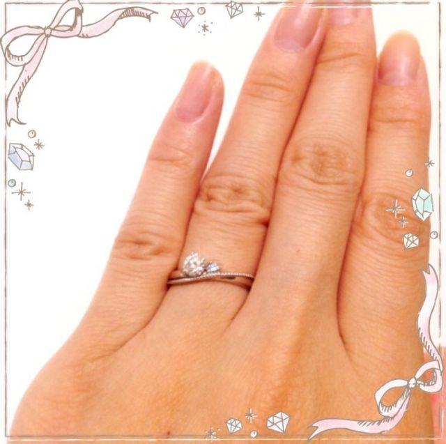 2人で決めた婚約指輪