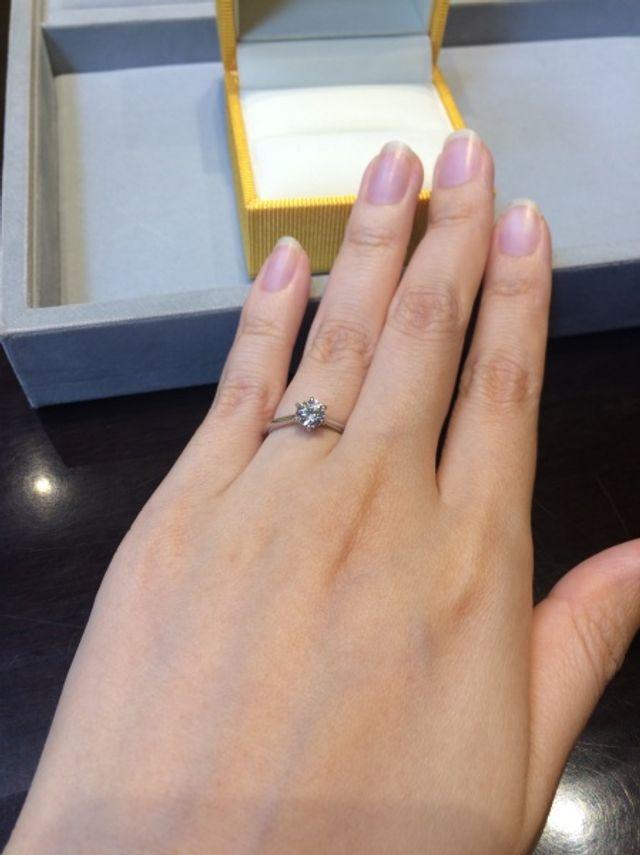 フルオーダーの指輪です