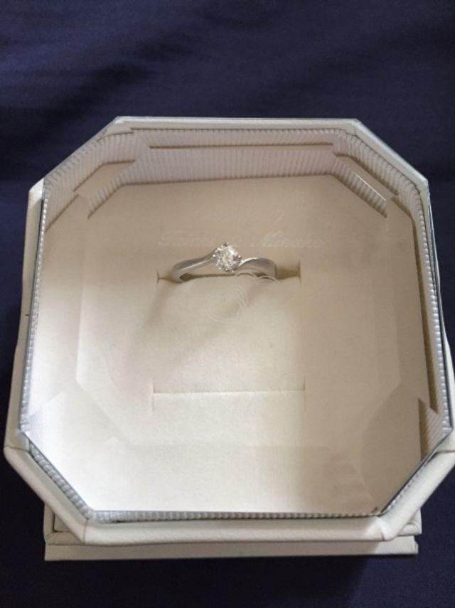 素敵な婚約指輪