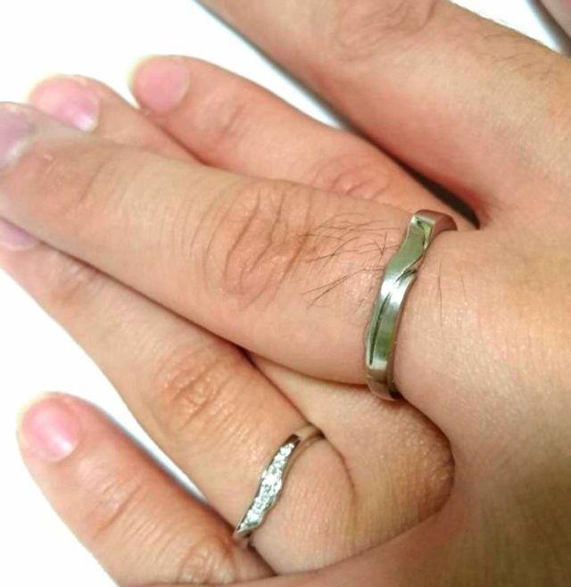 思い入れの強い結婚指輪になりました