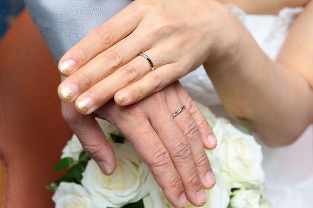 結婚式の当日に撮影したものです