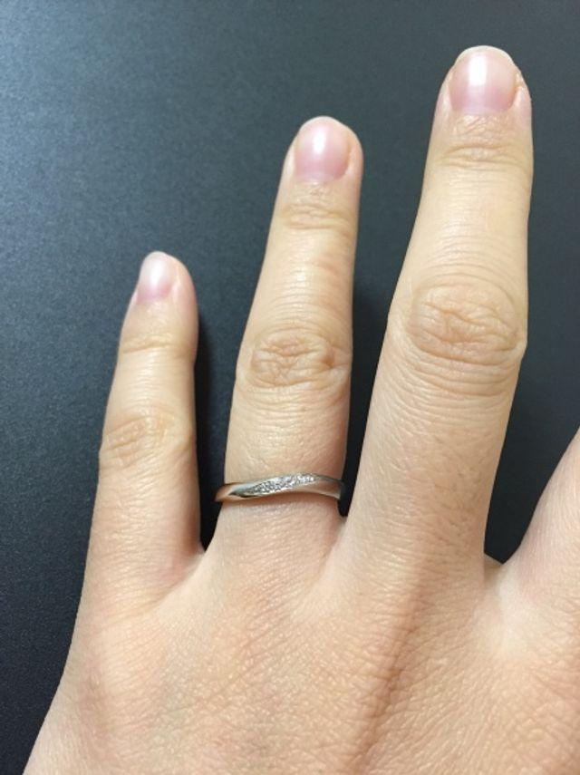 レディースの指輪です