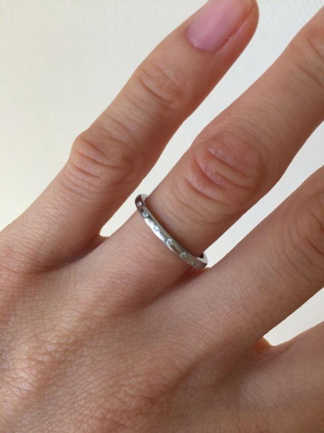 4°Cブライダルで購入 結婚指輪