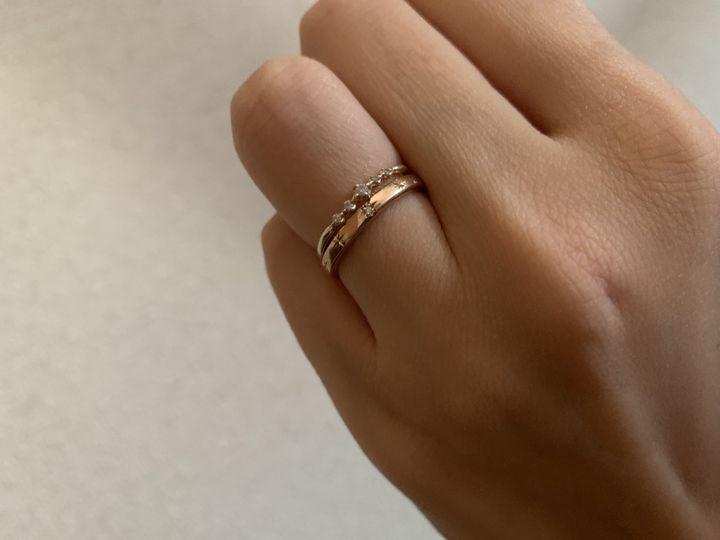 【voulez vous(ヴーレ・ヴー)の口コミ】 ゼクシィを見ていてヴーレヴーの指輪を見た時点でこれ以外考えれないと思…