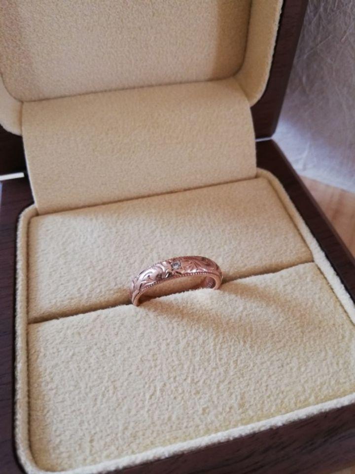 【MAILE(マイレ)の口コミ】 結婚指輪はハワイアンジュエリーと決めていたので、指輪のタイプはすぐに…