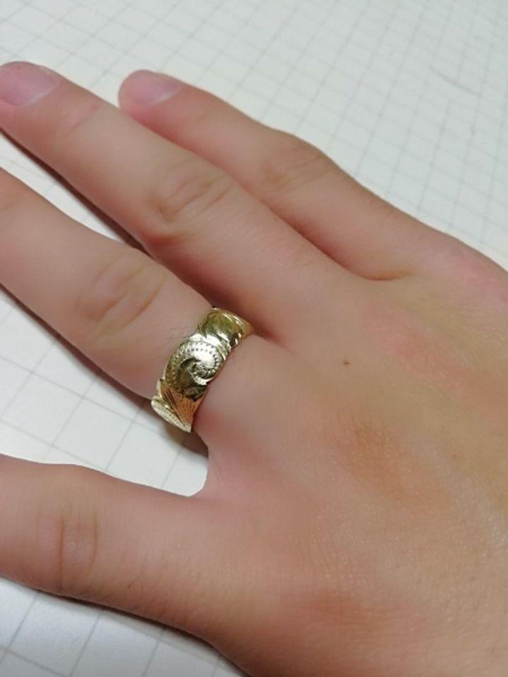 【MAILE(マイレ)の口コミ】 一般的な結婚指輪は男性用も細身のものが多く、優しい印象のものが多いで…