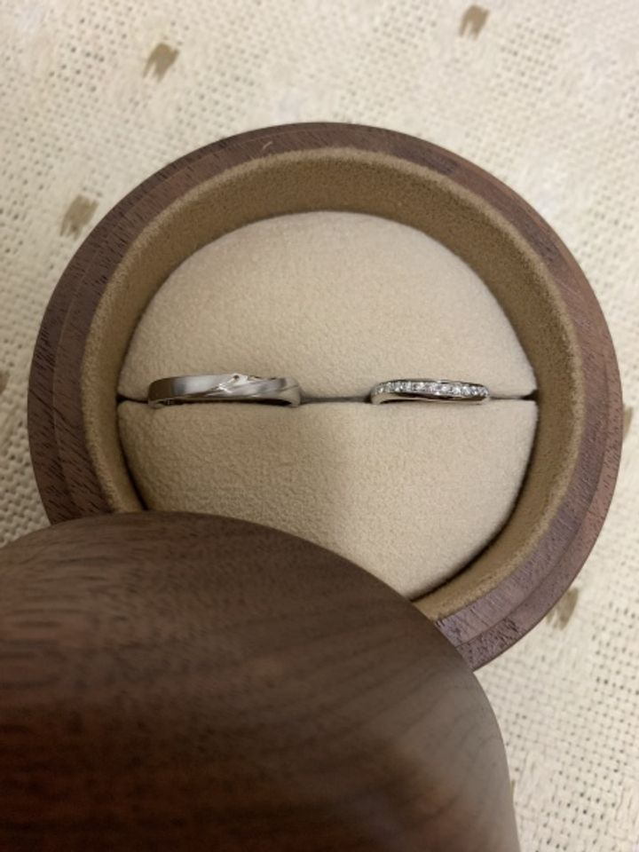 【COLANY(コラニー)の口コミ】 「婚約指輪と結婚指輪を重ねづけしたい」とお店の方に要望を伝えたところ…