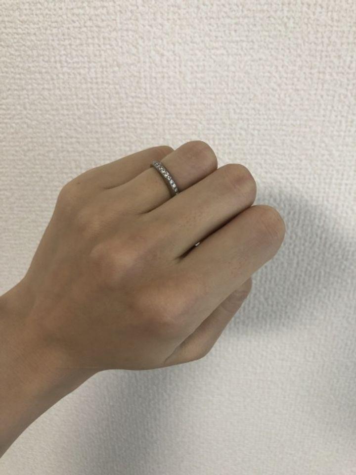 【俄(にわか)の口コミ】 ニワカの綺羅という指輪を結婚指輪として選びました。日本のブランドであ…