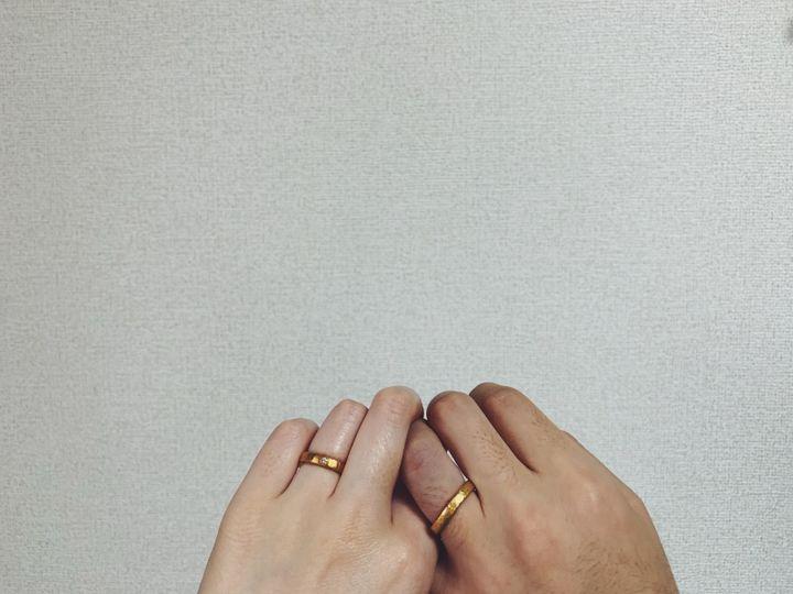 【市松の口コミ】 指輪の色やデザインの種類が何種類かあり、その中でも24kが私たちらしいと…