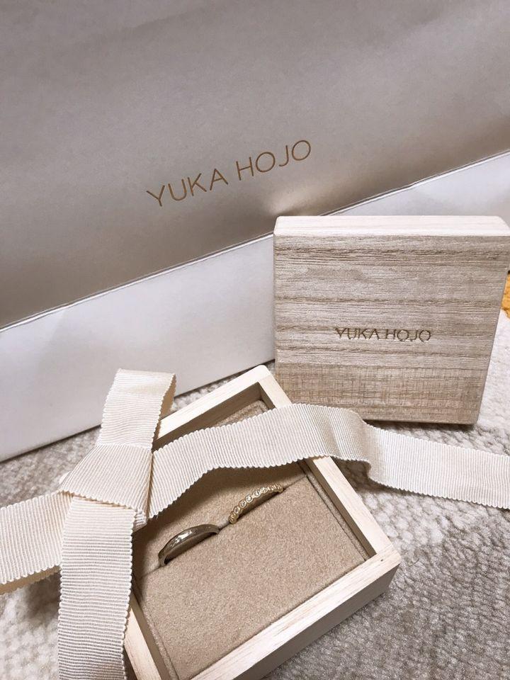 【YUKA HOJO jewelryの口コミ】 もともとインスタで見ていてずっと可愛いなと思って店舗を探して見に行き…