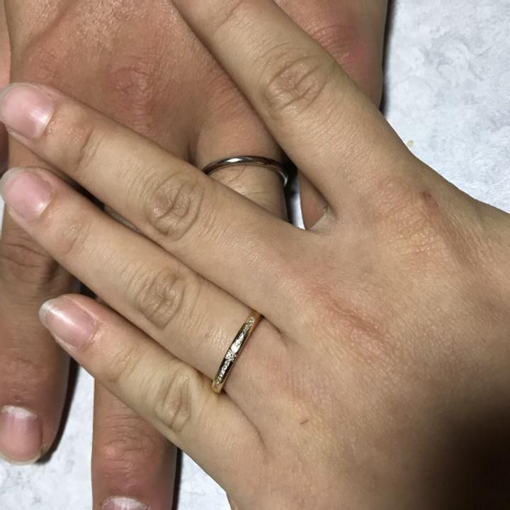 【OCTAVE(オクターヴ)の口コミ】 もともとは、どんな指輪にするかも全く決めてなかったのですが、いくつか…