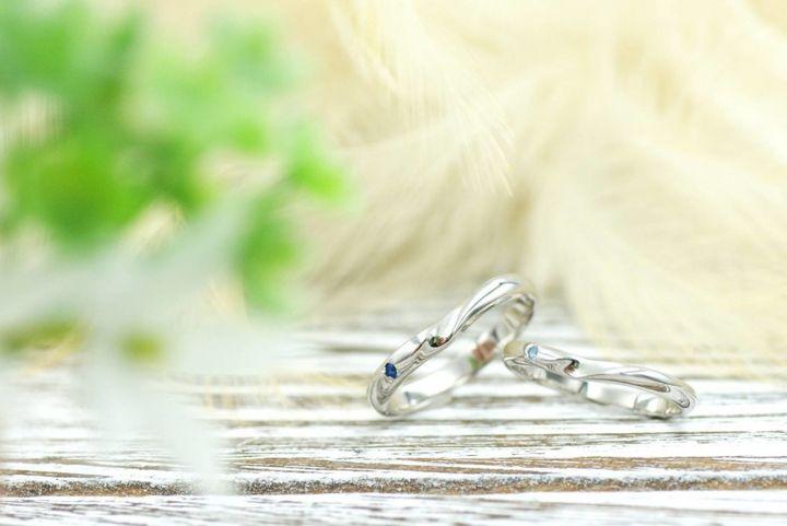 【kazariya Yuiの口コミ】  自分たちだけのオリジナルの指輪が欲しいなーと探していたところ、こちら…