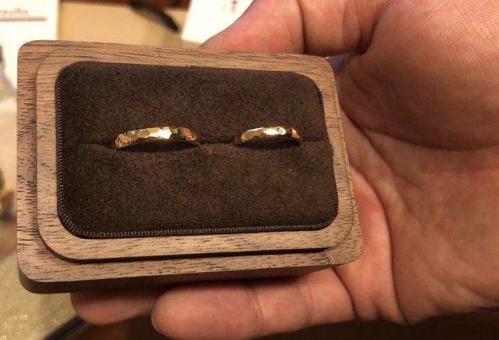 【手作り指輪工房 G.festa(ジーフェスタ)の口コミ】 手作りなので指輪のデザインも自分たちの好きなように決めれること。価格…