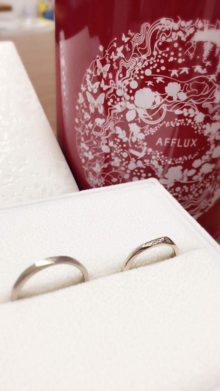 【AFFLUX(アフラックス)の口コミ】 他のブランドで考えていましたが、値段が高く悩んでいるときにこの指輪に…