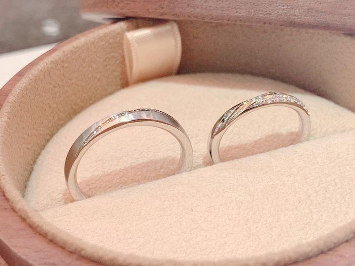 【COLANY(コラニー)の口コミ】 指輪を見に行こうと初めてフラッと立ち寄ったら もうその場で決めてしまい…