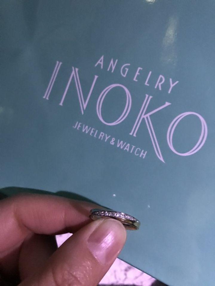 【ANGELRY INOKO(エンジェリーイノコ)の口コミ】 フルオーダーができるので自分好みの指輪に出来る所、さらに鋳造と鍛造の…