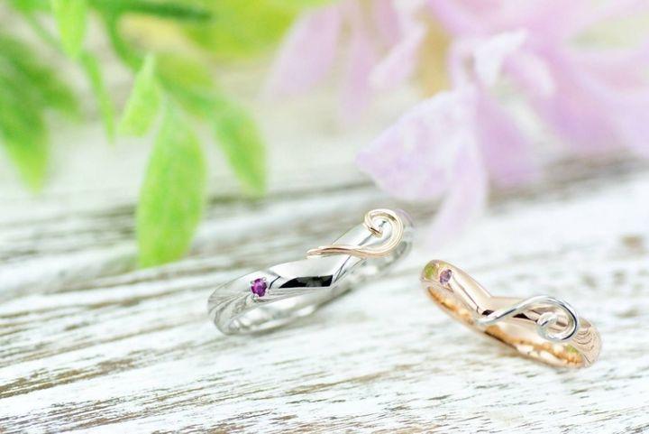 【kazariya Yuiの口コミ】 オーダーメイドで自分たちだけの指輪を作ることが出来ること、それでいて…