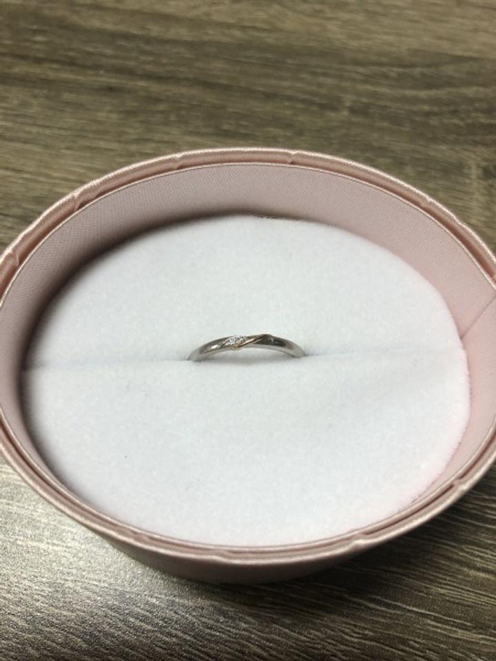 【nocur(ノクル)の口コミ】 この価格でダイヤ入りが買えると思っていなかったので、キュービックジル…