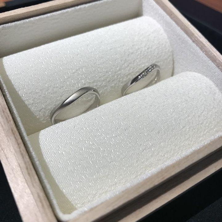 【彩乃瑞(IRONOHA)の口コミ】 運命の指輪に出会ったのは3店舗目でした。事前に好みのデザインをネットで…