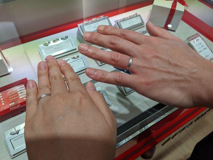 【AFFLUX(アフラックス)の口コミ】 デザインがいっぱいあることと、永久保証だそうです! 長い期間指輪を使っ…
