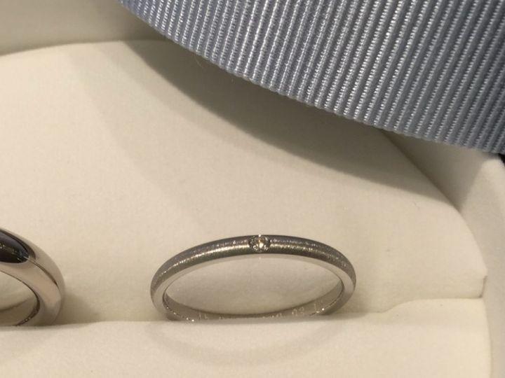 【ラザール ダイヤモンド【取扱店販売】の口コミ】 普通のマットとはちょっと違い、キラキラとしたマット素材に一目惚れでし…