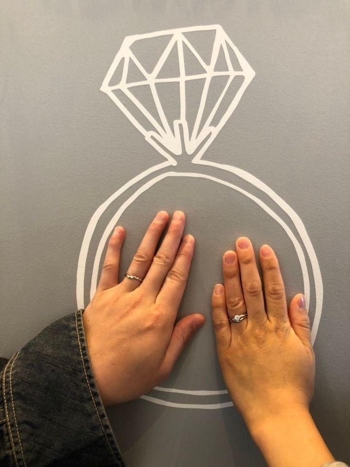 【フラー・ジャコー(FURRER-JACOT)の口コミ】 指輪の決め手はデザイン性とつけ心地です。また、彼から貰った婚約指輪と…