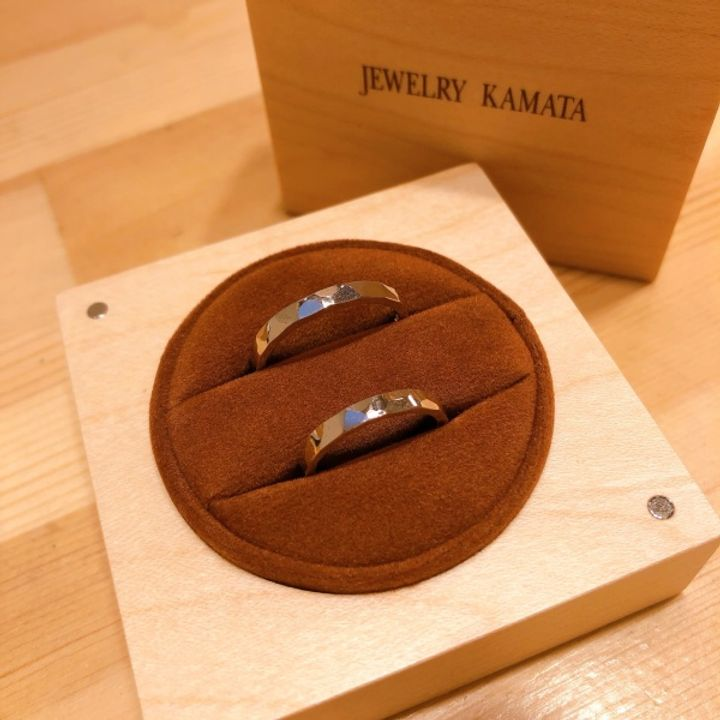 【JEWELRY  KAMATA(ジュエリーかまた)の口コミ】 手作りの指輪を贈り合いたいと検討していました。店舗にて相談したところ…