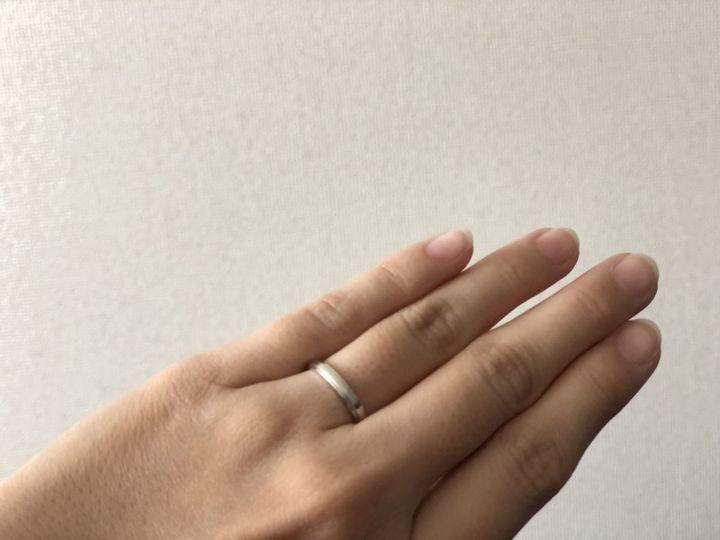 【カルティエ(Cartier)の口コミ】 指は長い方ですが、そもそも手が大きく太さもあるので少しでも細く見える…