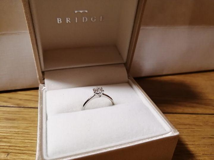 【BRIDGE(ブリッジ)の口コミ】 プロポーズリングとしてもらい、リングのデザインを変える際に可愛いもの…