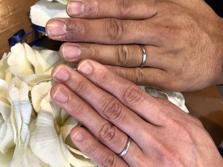 【Petit Marie(プチマリエ)の口コミ】 指輪のデザインがお互いにあっていたから。 いろんな種類の指輪を試着した…