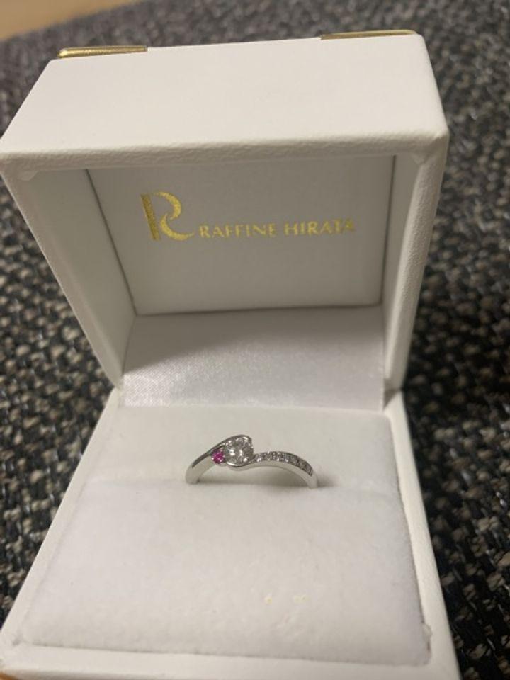 【Princesse(プランセス)の口コミ】 都内で以前に宝石店で指輪を見せてもらいその際に引っかかりの無いもので…