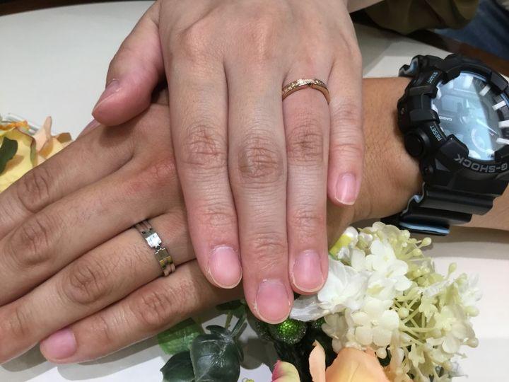 【COLANY(コラニー)の口コミ】 他に見たことがないデザインで、誰も同じような指輪を付けてない指輪にし…