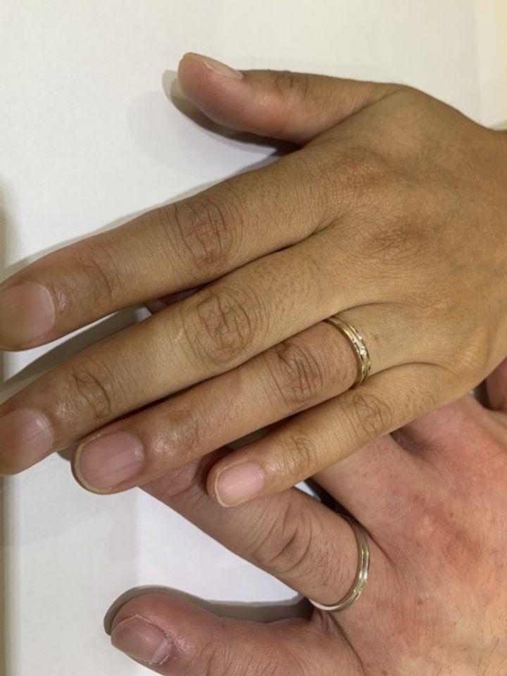 【Petit Marie(プチマリエ)の口コミ】 ドラマの撮影でこの指輪が使われていて、直ぐに店舗に見に行き決めました…