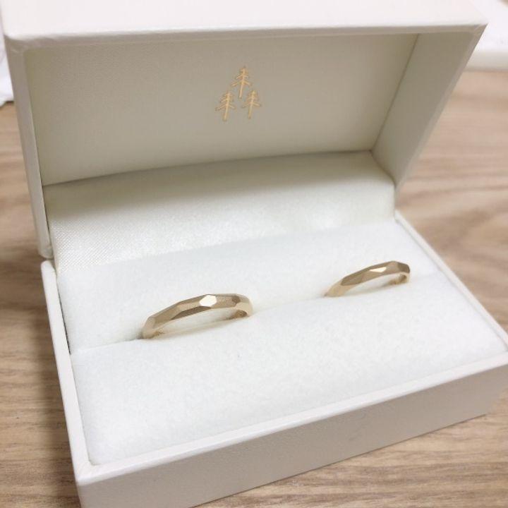 【THREE TREES(スリーツリーズ)の口コミ】 結婚指輪は最初から手作りしたいと決めていました。近くで手作り出来ると…