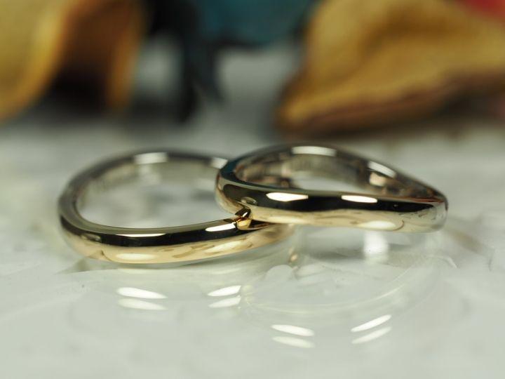 【AUROA(アウロア)の口コミ】 グラデーションが綺麗だと思いお店で見て一目惚れしました。 指輪を選びか…