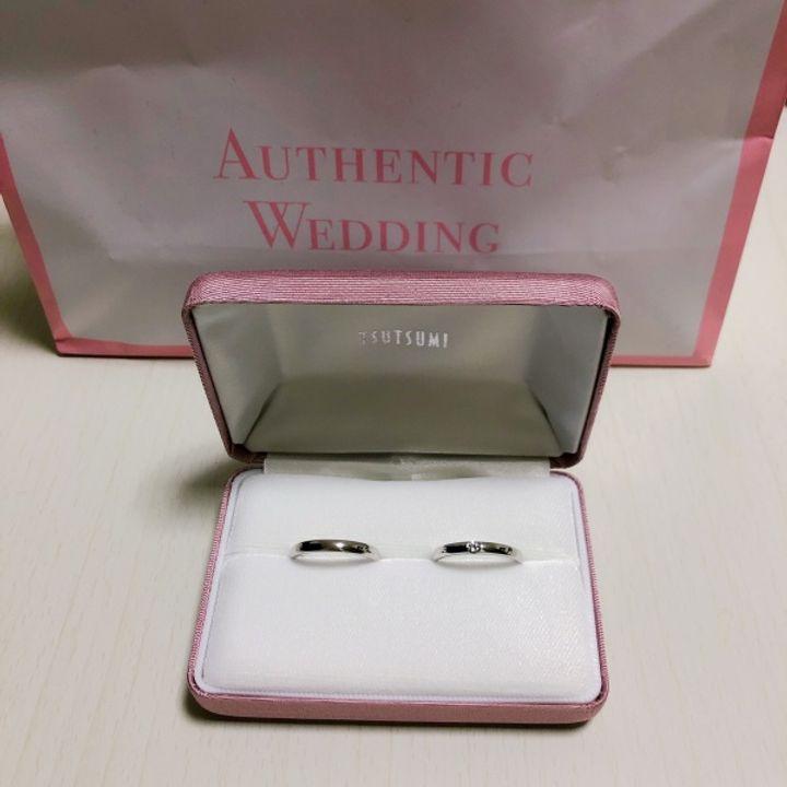 【ジュエリーツツミ(JEWELRY TSUTSUMI)の口コミ】 私は婚約指輪のザ・ダイヤいます‼︎という派手なデザインは好まず本当にシ…