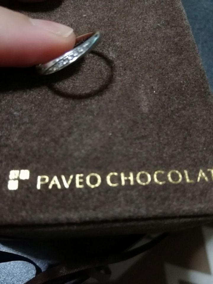 【PAVEO CHOCOLAT(パヴェオショコラ)の口コミ】 指輪はいつもつけるのでシンプルなデザインを探していました。男性のもの…