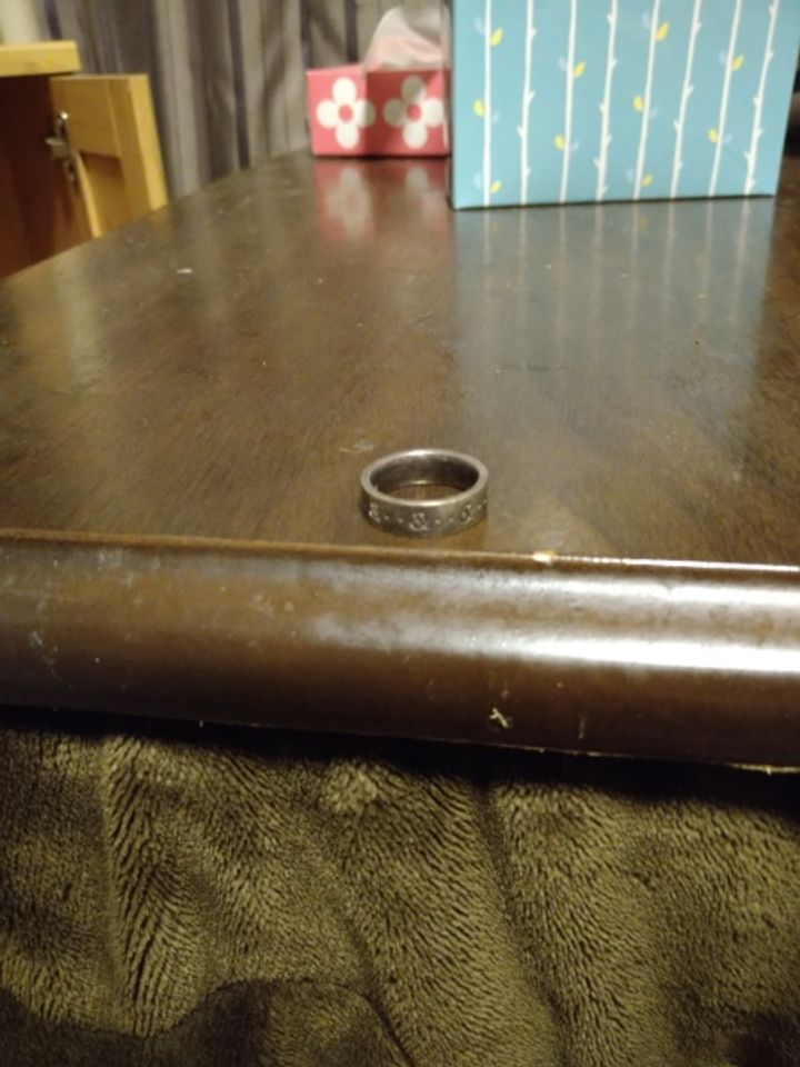 【Pinky&Dianne(ピンキー&ダイアン)の口コミ】 仕事を辞め、緒金を削って生活していたため、高価な指輪は諦め安価な物を…
